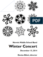 Norwin Middle School Band Concert December 2014