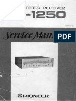 SX-1250 Service Manual (Hi-Res)