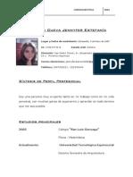 Curriculum Trabajo 2014