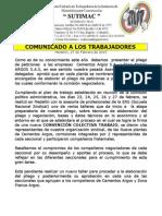 comunicado preparacion pliego cementos argos y zona franca argos medellin febrero 27 de 2015