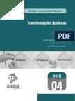 TRANSFORMAÇÃO E MEDIDAS