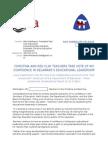 RCEA-CEA Press Release
