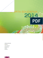 Oferta Educativa 2014