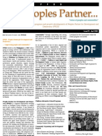 PPDD e-Newsletter - April issue