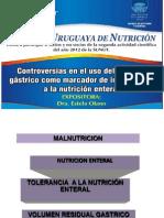 Controversias en el uso del residuo gastrico como marcador de intolerancia a la nutricion enteral.pdf