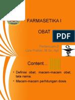P-2 OBAT farmasetika
