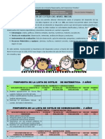Lista de Cotejo Ugel 05-3 Añosb (1)