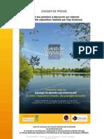 """dossier de presse de l'exposition virtuelle """"Question Paysage en Gironde"""""""