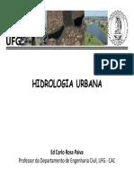 16- Drenagem Urbana - Hirologia Urbana - Ufg-cac- Slides