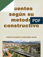 Puentes Según Su Metodo Constructivo