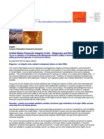 1001-25 US Financial Systems Integrity Crisis - Focus on false database/case management systems s