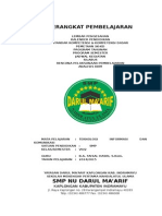 Cover Perangkat Pelajaran SMP Darul Ma'arif Kaplongan