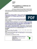 Integracion Económica y Comercial en América Latina