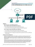 3.3.3.4 Lab - Using Wireshark to View Network Traffic