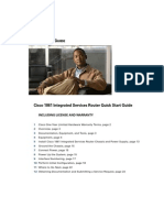 Cisco 1861 quick start guide