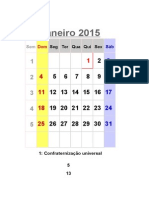 calendário ilhéus 2015