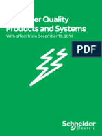 Price List Schneider Electric Lv Power Quality Products and Systems 19-12-2014