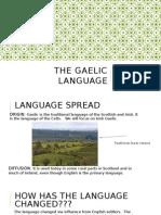 the gaelic language