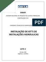 Sinapi Comp Ct Lote2 Kits Inst Hidraulicas v001