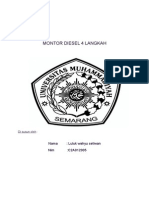 Montor Diesel 4 Langkah