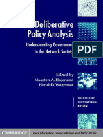 Maarten a. Hajer, Hendrik Wagenaar-Deliberative Policy Analysis_ Understanding Governance in the Network Society (Theories of Institutional Design) (2003)