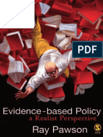 Ray Pawson-Evidence-based Policy _ a Realist Perspective-SAGE (2006)