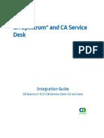 Spectrum ServiceDesk Integration ENU