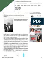 Homenaje Al Torero Reynosense Héctor Tito Palacios