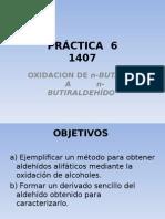 oxidación de n butanol