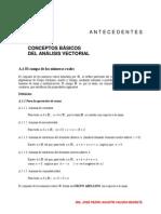 2) Concep. Básicos Del Análisis Vectorial