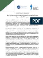 MNP Comunicado Peru 10 Marzo 2015