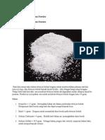 Cara Membuat Detergent Powder