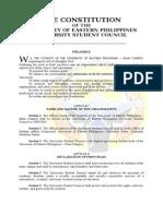 2007 USC Constitution