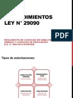 PROCEDIMIENTOS- LEY-29090