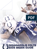 Indianapolis Colts 2009 Media Guide