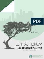 Jurnal Hukum Lingkungan Indonesia Vol 1 Issue 1 Januari 2014