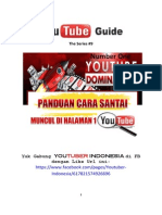 Youtube Guide The Series #9 NUMBER ONE YOUTUBE DOMINATION Panduan Cara Santai Muncul Di Halaman 1 Youtube. .pdf