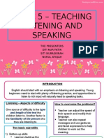 TOPIC 5 – TEACHING LISTENING AND SPEAKING.pptx