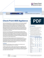 4600 Appliance Datasheet