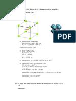 Cristalográfica ejercicios resueltos- UNI