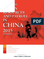 Human Resources and Payroll in China 2015 - Preview