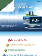 Rheology of Crude Oil