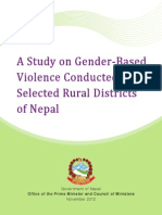 Gender Based Violence in Nepal