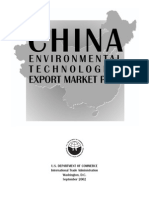 China environmental technology