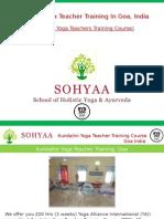 Kundalini Yoga Teacher Training Course in Goa, India