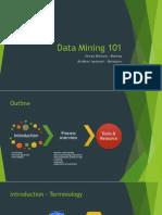 Data Mining 101