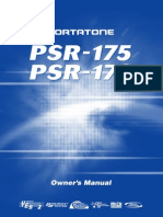 Yamaha Portatone PSR-175 User Manual