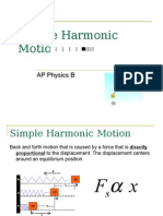 AP Physics B- Shm