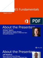 1 - Office 365 Fundamentals Introduction