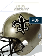 New Orleans Saints Media Guide 2009